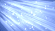 Blue Motion Background with Light Beams