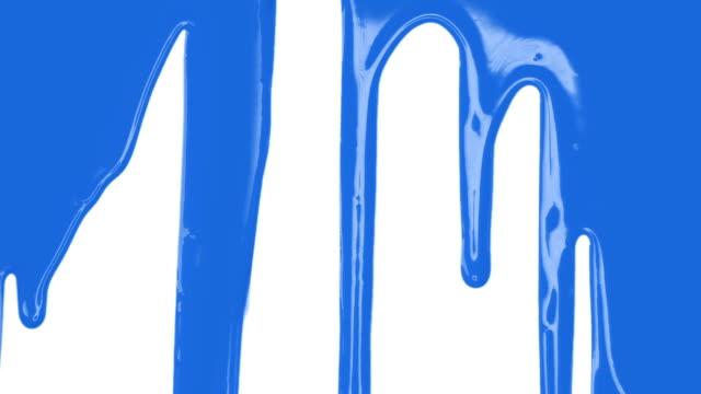 Blaue Farbe Übergang