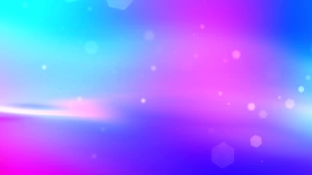 Particelle blu sfondo rosa
