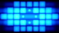 Blue pixels lights