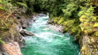Blue Pools of Haast Pass, New Zealand