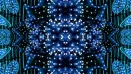Blue Starburst Neon-Frame-Las Vegas, Nevada