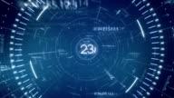 Blau tunnel Daten 30 Sekunden lang gedrückt, um den countdown