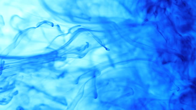 Blue Water Swirl Background
