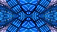 Blue X Neon-Frame-Las Vegas, Nevada