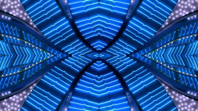 Blue X Neon Frame - Las Vegas, Nevada