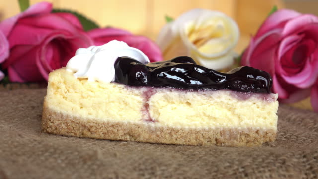 Blueberry cake delicious sweet