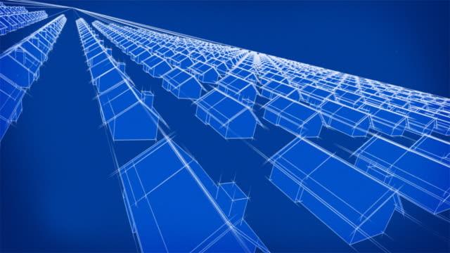 Blueprint Hundreds of Houses