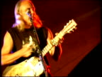 Blues/Jazz guitarist Kent DuChaine performing, Great Britain