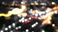 Blurred Arstract background Aerial view of Traffic at Bangkok Central Station