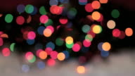 Blurred, Blinking Christmas Lights (HD,NTSC)