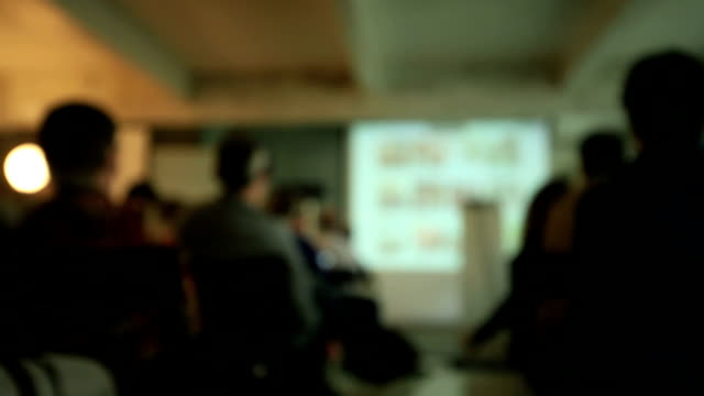 Blurred Business Conference