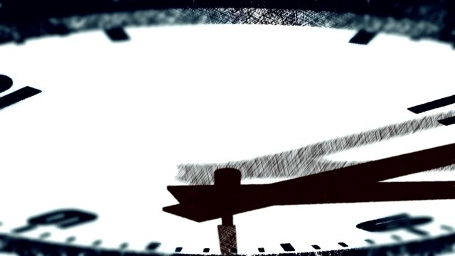 ANIME: blurred modern clock time lapse [010]