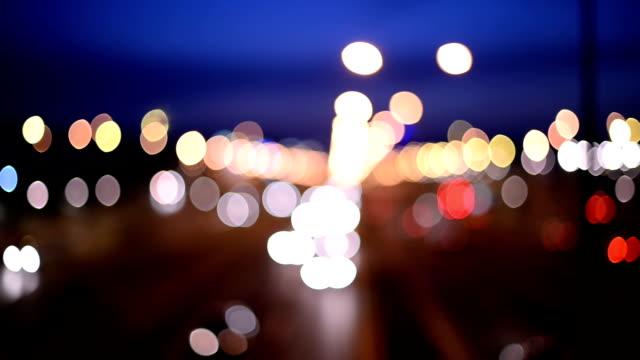 Blurred traffic
