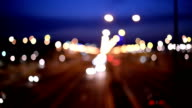 Blurred traffic