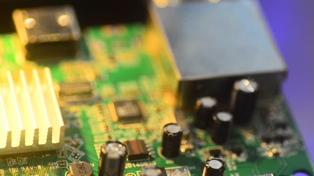 HD:PCB Board computer chip