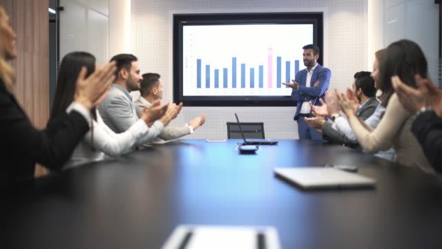 Board room presentation.