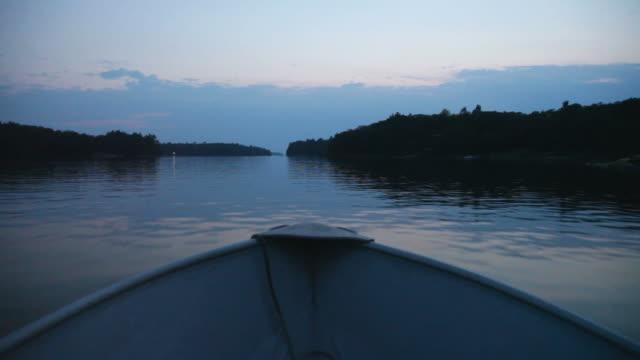 Boat Ride at Dusk