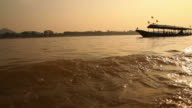 Boat tours on the mekhong river.