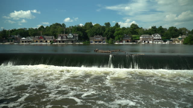 Boathouse Row and The Fairmont Fish Ladder