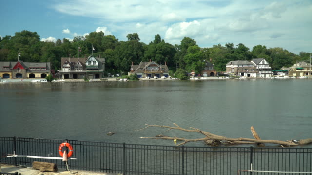 Boathouse Row And The Schuylkill River