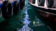 Boats and rubbish