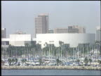 boats at the Volleyball game at Queen Mary in Long Beach California on September 4 1988