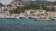 WS POV Boats in harbor / Palma de Mallorca, Mallorca, Baleares, Spain