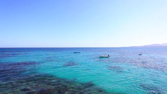 Boote auf der Meer, Kanarische Inseln HD-Videos