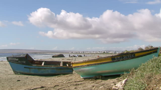 WS Boats on beach / Western Cape, South Africa