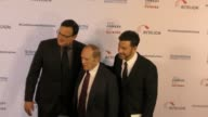 Bob Newhart Jimmy Kimmell and Bob Saget at the Cool Comedy Hot Cuisine 30th Annual Benefit For The Scleroderma Research Foundation at the Beverly...