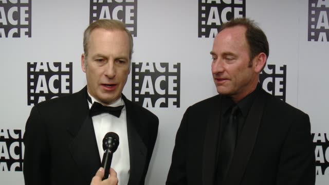 INTERVIEW Bob Odenkirk SKip MacDonald on the event at 65th Annual ACE Eddie Awards in Los Angeles CA