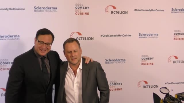 Bob Saget and Dave Coulier at the Cool Comedy Hot Cuisine 30th Annual Benefit For The Scleroderma Research Foundation at the Beverly Wilshire Four...