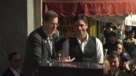Bob Saget and John Stamos at the John Stamos Honored with a Star on the Hollywood Walk of Fame at Hollywood CA