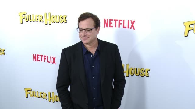 Bob Saget at the Netflix's 'Fuller House' Premiere at Pacific Theaters at the Grove on February 16 2016 in Los Angeles California