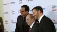 Bob Saget Bob Newhart and Jimmy Kimmel at the Cool Comedy Hot Cuisine 30th Annual Benefit For The Scleroderma Research Foundation at the Beverly...