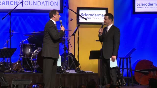 "SPEECH Bob Saget Jimmy Kimmel at ""Cool Comedy / Hot Cuisine"" An Evening Benefitting the Scleroderma Research Foundation in Los Angeles CA"