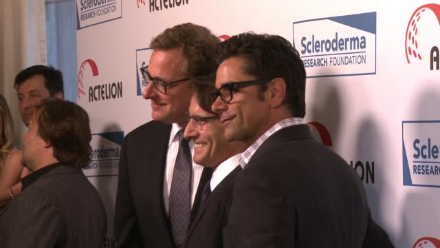"Bob Saget John Stamos at ""Cool Comedy / Hot Cuisine"" An Evening Benefitting the Scleroderma Research Foundation in Los Angeles CA"