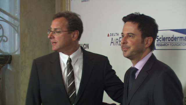 Bob Saget Jonathan Silverman at the Scleroderma Research Foundation's 'Cool Comedy Hot Cuisine' at Beverly Hills CA