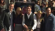 Bob Saget Lori Laughlin John Stamos Candace Bure and Jeff Franklin at the John Stamos Honored with a Star on the Hollywood Walk of Fame at Hollywood...
