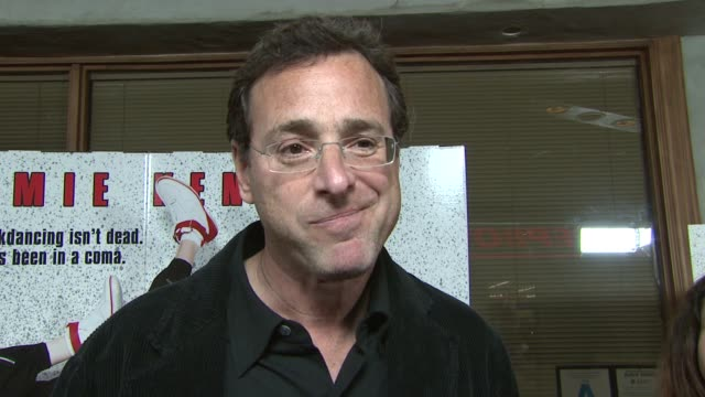 Bob Saget on attending the event what he liked about the 80s current projects at the 'Kickin' It Old Skool' Premiere at the Music Box in Hollywood...