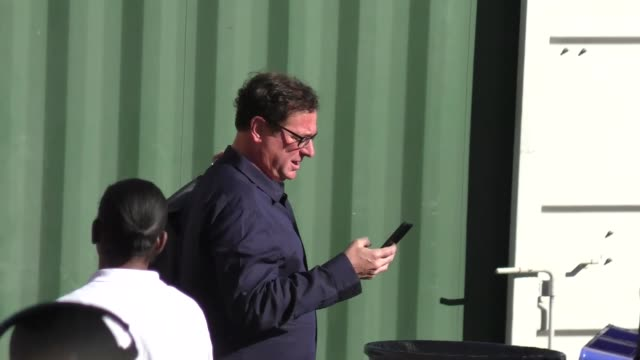 Bob Saget outside Jimmy Kimmel Live in Hollywood in Celebrity Sightings in Los Angeles