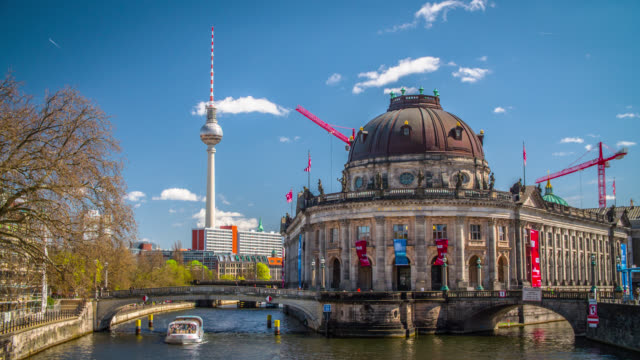 Bode Museum on Museums Island, Berlin, Germany