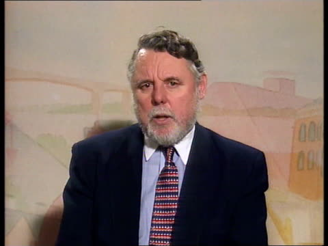 Bodies flown home / Hostage rescues ITN INT Terry Waite interview SOT We would have died if place we were held had been stormed