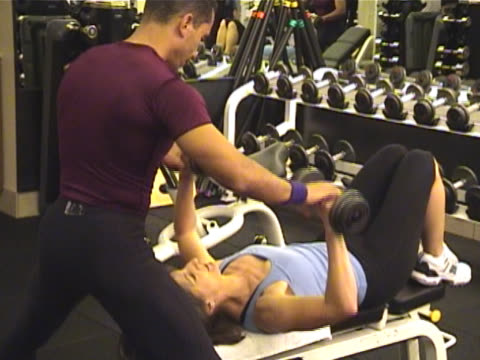 Body Sculpting and Weight Training - Bench Press