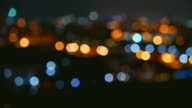 HD Bokeh light blur city