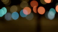 Bokeh Of Street Lights