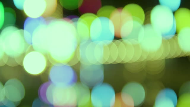 Bokeh Out of Focus Blur Light Shots