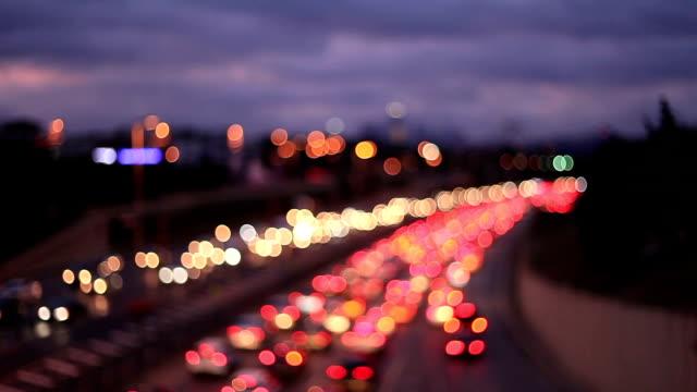 HD: Bokehs on Highway