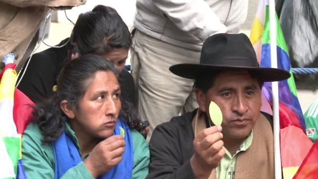 Bolivia which touts the coca leaf for its medicinal properties marked its second National Coca Chewing Day CLEAN Bolivians celebrate the coca leaf...